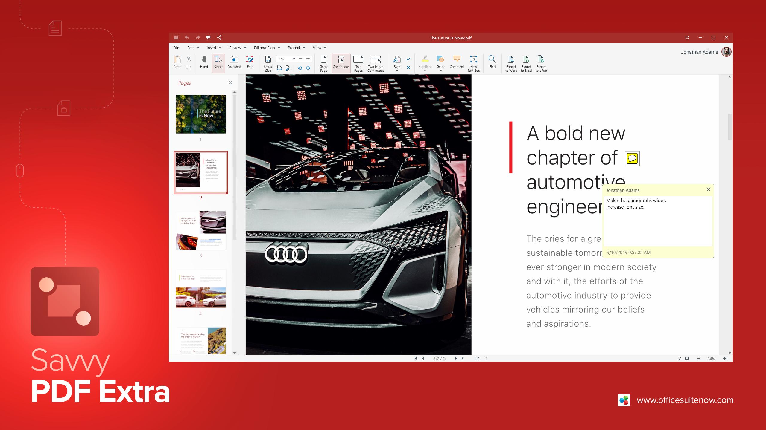 OfficeSuite PDF 엑스트라 뷰어